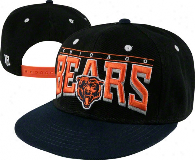 Chicago Bears 2 Tone Hard Knocks Snapback Hat