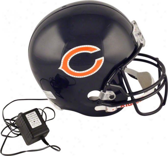 Chicago Bears Fiber Optic Full Size Replica Helm