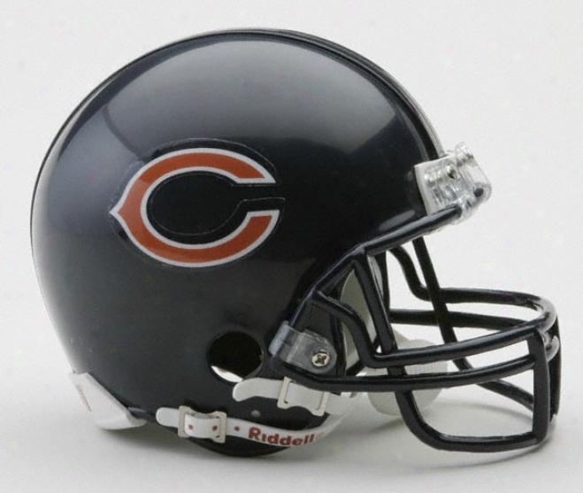 Chicago Bears Nfl Riddell Mini Helmet
