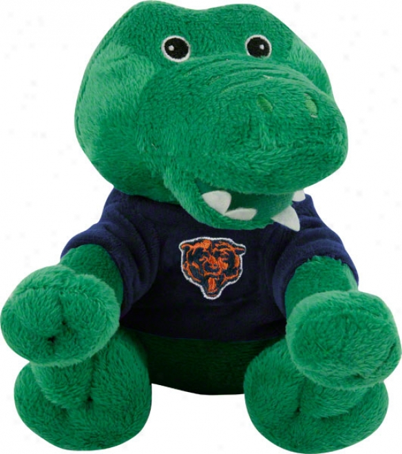 Chicago Bears Plush Baby Alligator