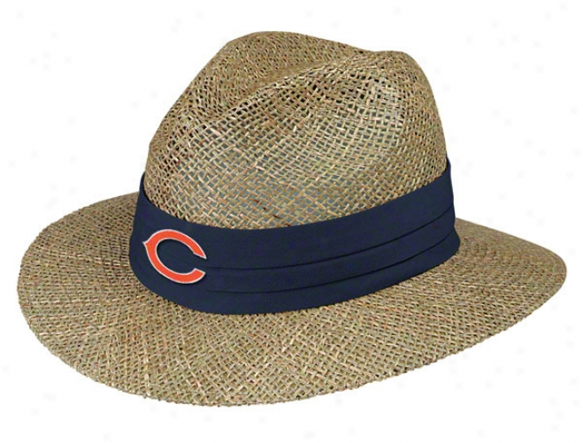 Chicago Bears Pre-season Coach's Straw Hat