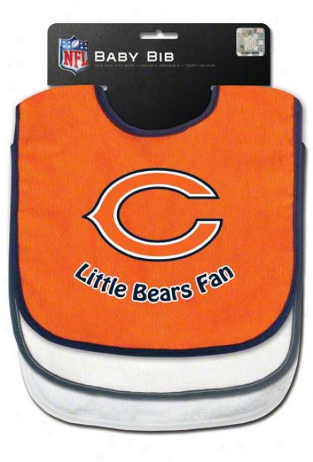 Chicago Bears Three Bib Set