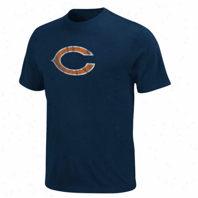 Chicago Bears Vintage Logo Ii T-shirt