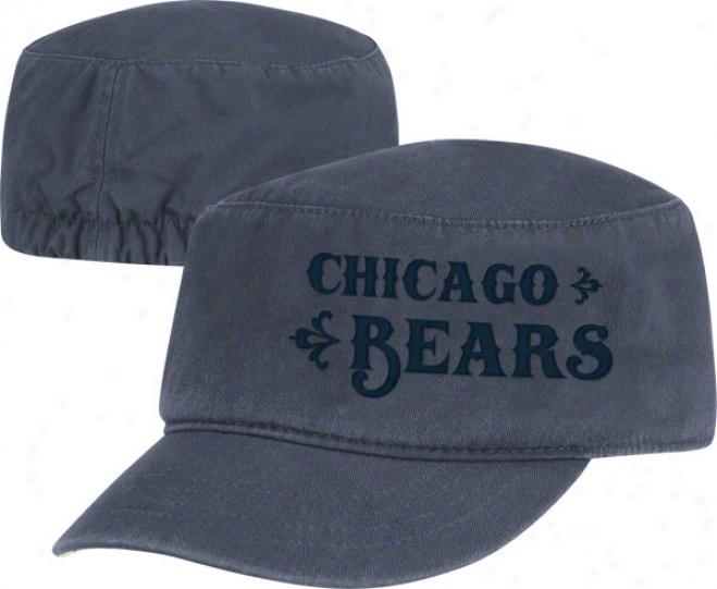 Chicago Bears Women's Hat: Tonal Military Cap