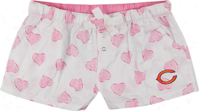 Chicago Bears Women's Pink Essence Shorts
