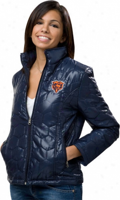 Chicago Bears Women's Quilted Jacket