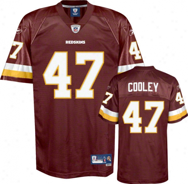 Chris Cooley Reebok Nfl Team Color Premier Washington Redskins Youth Jersey
