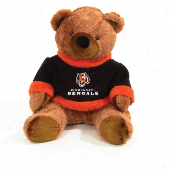Cincinnati Bengals 20&quot Plush Bear