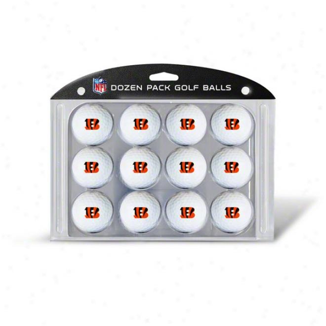 Cincinnati Bengals Golf Ball 12 Pack