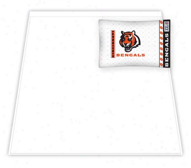 Cincinnati Bengals Micro Fiber Twin Sheet Plant