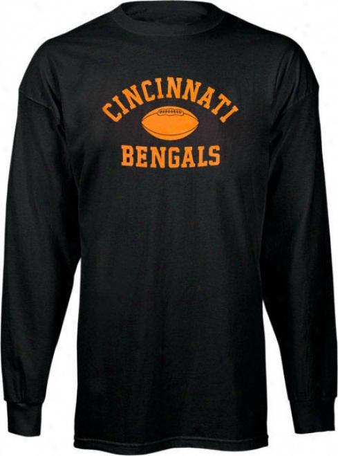 Cincinnati Bengals Toddler Real Authentic Long Sleeve T-shirt