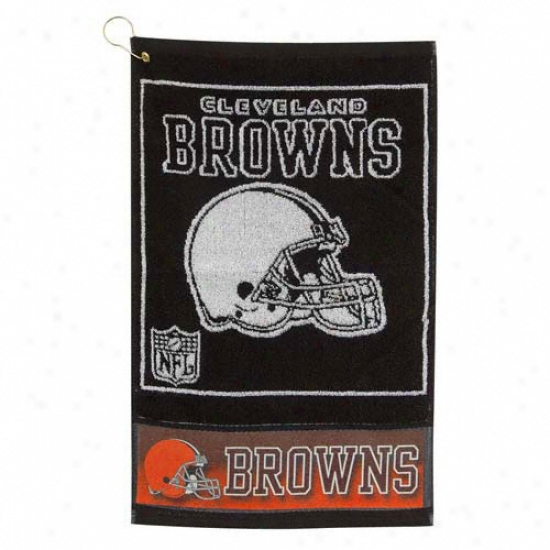 Cleveland Browns 16x24 Jacquard Golf Towel