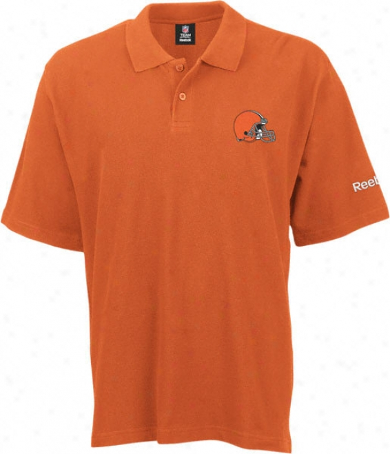 Cleveland Browns 2011 Orange Ra Polo