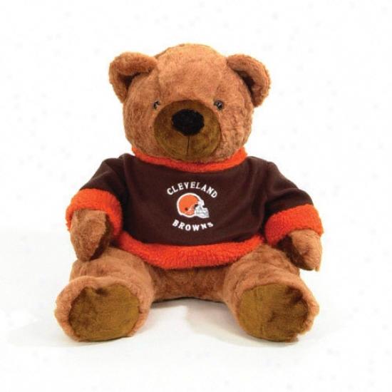 Cleveland Browns 20&quot Plush Bear