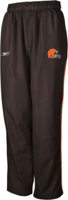 Cleveeland Browns -brown- Throwdown Warm-up Pants
