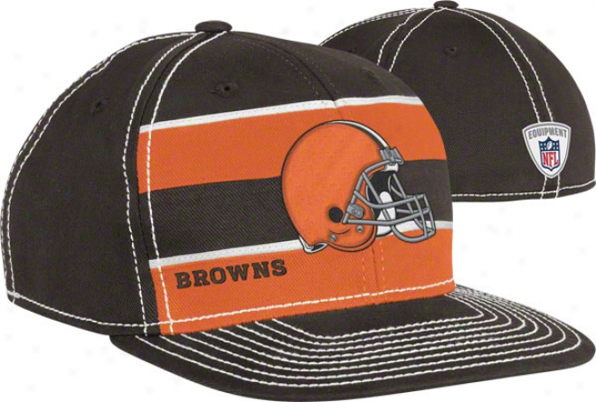 Cleveland Browns Fleex Hat: 2011 Player Sideline Flex Hat