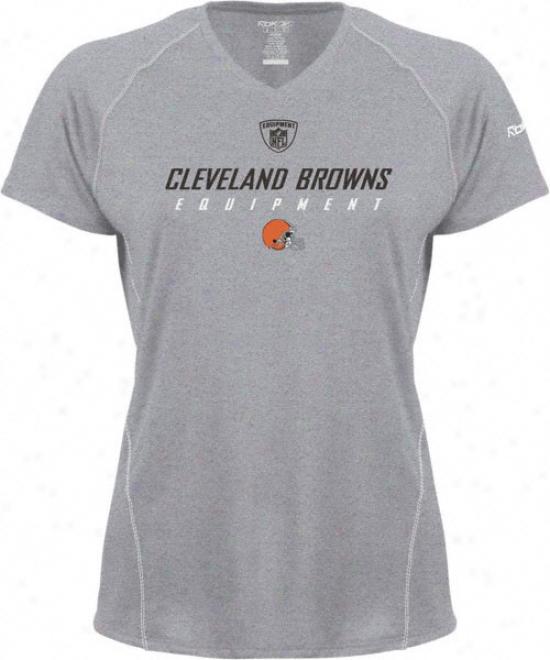 Cleveland Browns -grey- Junior's Speedwick Eqt Tee