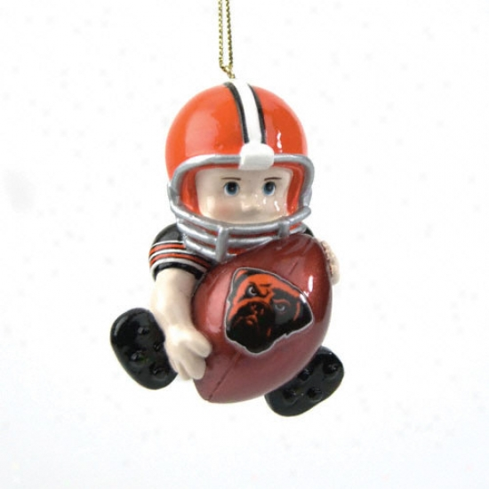 Cleveland Browns Lil Fan Team Playeer Ornament