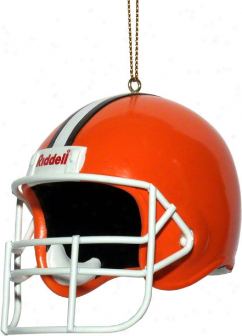 Cleveland Browns Team Helmet 3&quot Ornament