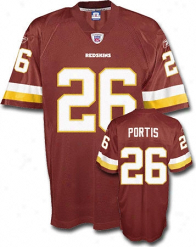 Clinton Portis Reebok Nfl Home Premier Washington Redskins Youth Jersey