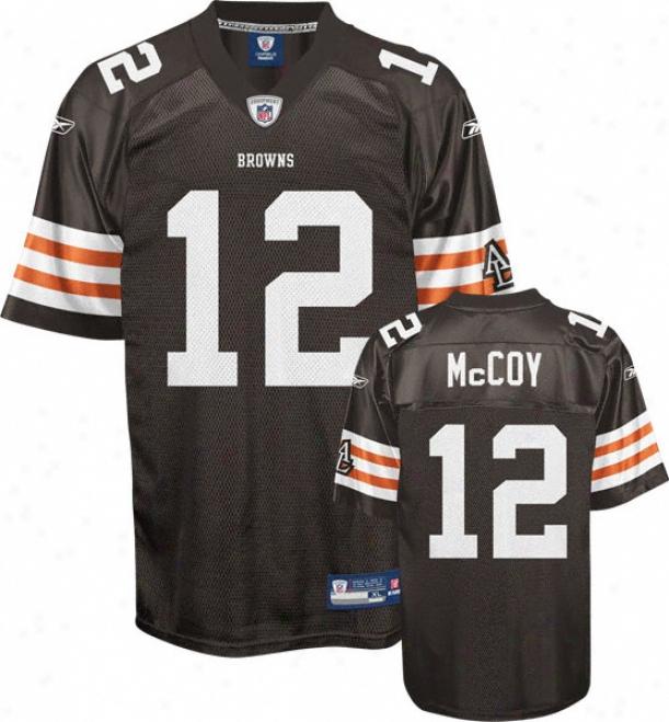 Colt Mccoy Brown Reebok Nfl Replica Cleveland Browns Infant Jersey