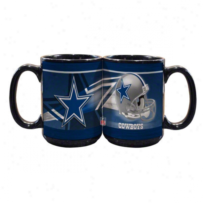 Dallas Cowboys 15oz. Helmet Mug