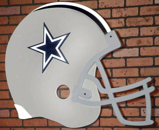 Dallas Cowboys Giat Football Helmet Art