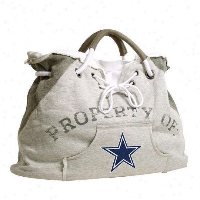 Dallas Cowboys Hoodie Tote Bag