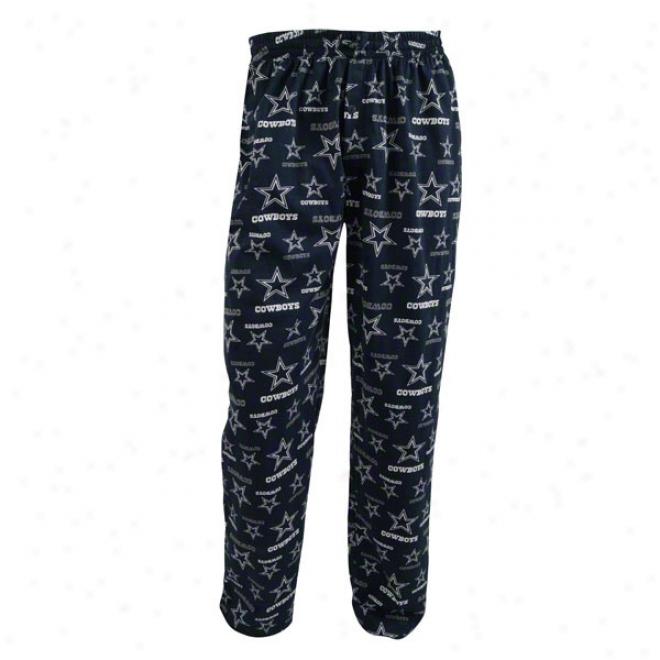 Dallas Cowboys Monterey Printed Cotton Jersey Pants