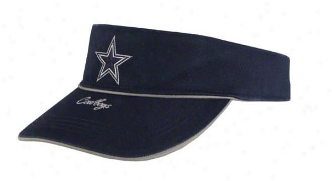 Dallas Cowboys Women's Marble Falls Visor Ships Adjustable Hat