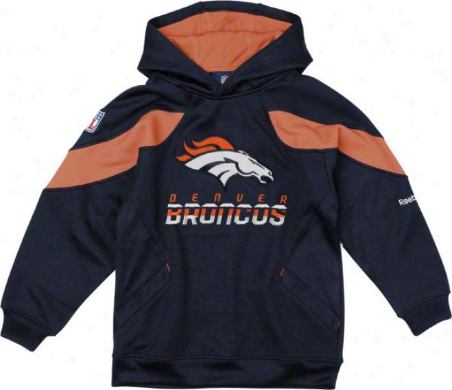 Denver Broncos Youth Sideline Momentum Cucullate Sweatshirt