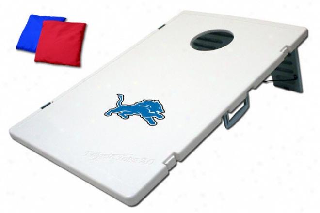 Detroit Lions Cornhole Toss: Bean Bag Game 2.0