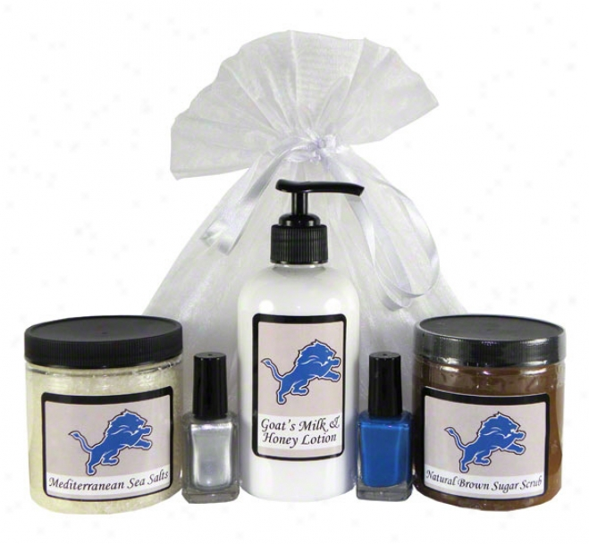 Detroit Lions Spa Gift Set