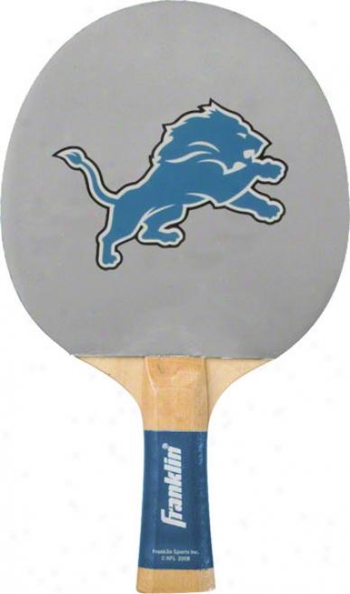 Detroit Lions Table Tennis Paddle