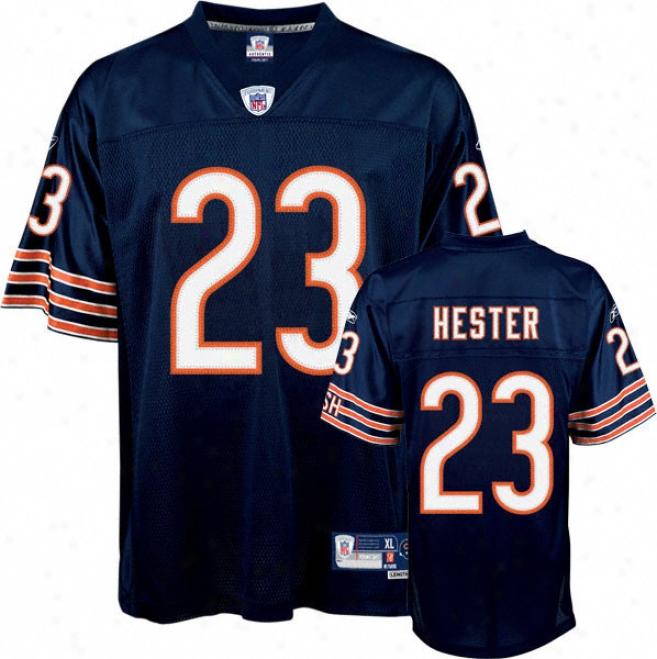 Devin Hester Reebok Nfl Navy Premier Chicago Bears Youth Jersey