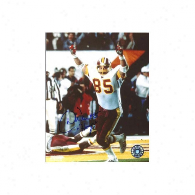 Don Warren Autographed Washington Redskins 8x10 Puoto