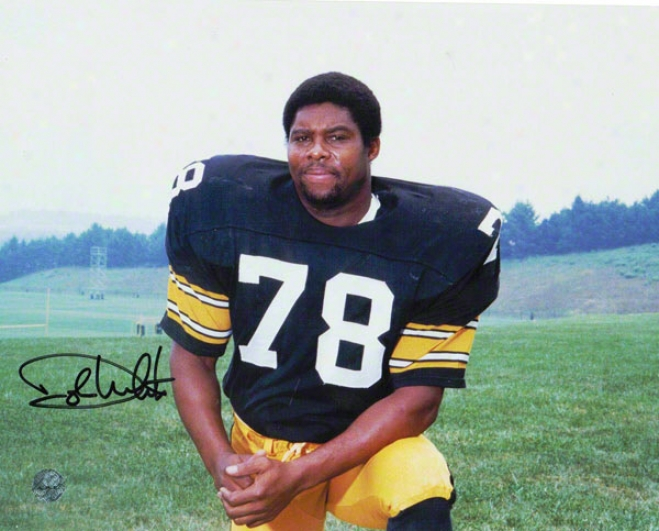 Dwight White Pittsburgh Steelers Autographed 8x10 Photo Pose