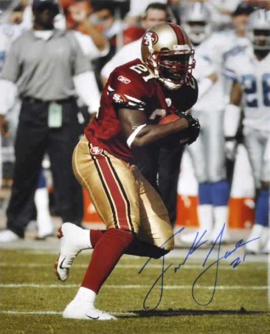 Frank Gore San Francisco 49ers Autographed 16x20 Photogeaph