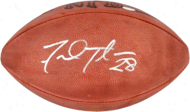 Fred Taylor Autographed Football  Particulars: Pro Football