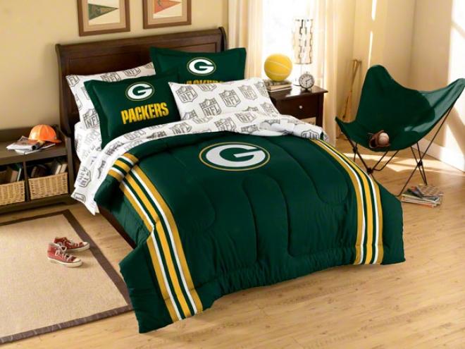 Green Bay Packers Full Comforter Set