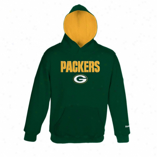 Green Bay Packers Youth Sportsman Clip Hooded Sweatshirt