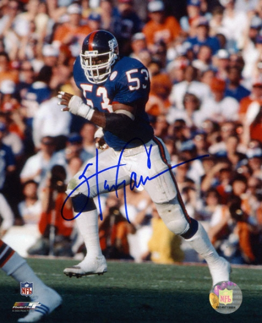Harry Carson New York Giants - Running - Autographed 8x10 Photograph