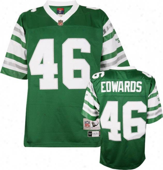 Herman Edwards Philadelphia Eagles Nfl Premier 1978 Throwback Jersey