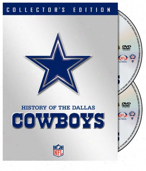 History Of The Dallas Cowboys- Dvd