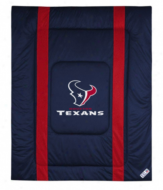 Houston Texans Sideline Twin Comforter