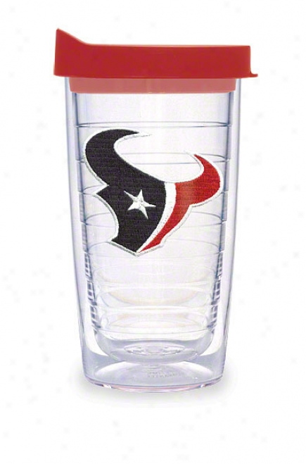 Houston Texans Tervis Tumbler 16 Oz Cup W/ Lid