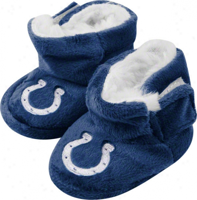 Indianapolis Colts Baby Slipper Boot