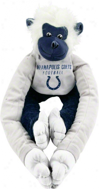 Indianapolis Colts Embroidered Monkey