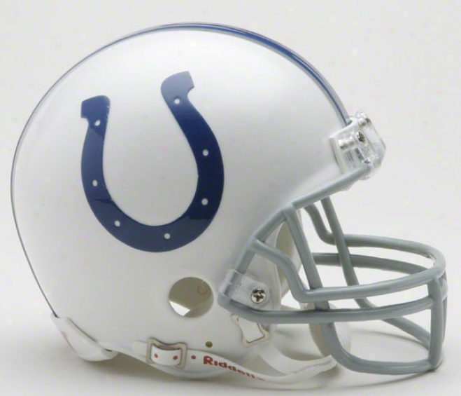 Indianapolis Colts Nfl Riddell Mini Helmet