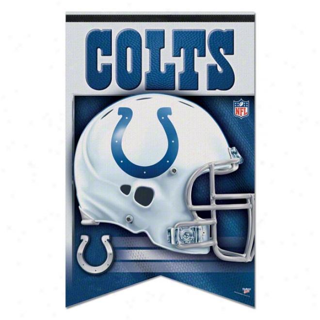 Inidanapolie Colts Premium 17x26 Banner